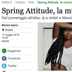 SPRING ATTITUDE SULL'ANSA