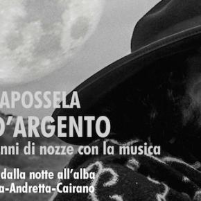 Le nozze d'argento con la musica di  VINICIO CAPOSSELA, sabato 29 agosto