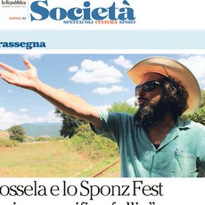 LO SPONZ FEST DI VINICIO CAPOSSELA SU LA REPUBBLICA