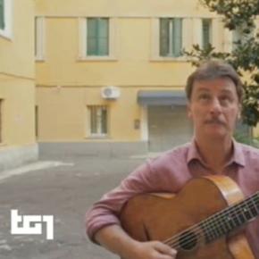 """""""ROMANTICA"""" il disco di GIORGIO TIRABASSI, a DoReCiakGulp TG1 di Vincenzo Mollica"""