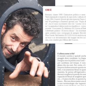 "L'INTERVISTA A DANIELE SILVESTRI SU ""LEFT"""