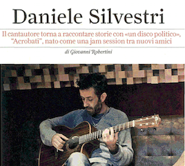 L'INTERVISTA A DANIELE SILVESTRI SU ROLLING STONE