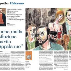 """""""APPALERMO, APPALERMO"""", IL ROMANZO D'ESORDIO DI CARLO LOFORTI, SU REPUBBLICA"""